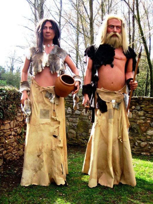Gegants Prehistòrics de Moià