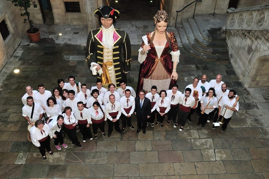 Gegants del Tricentenari-Sant Jordi