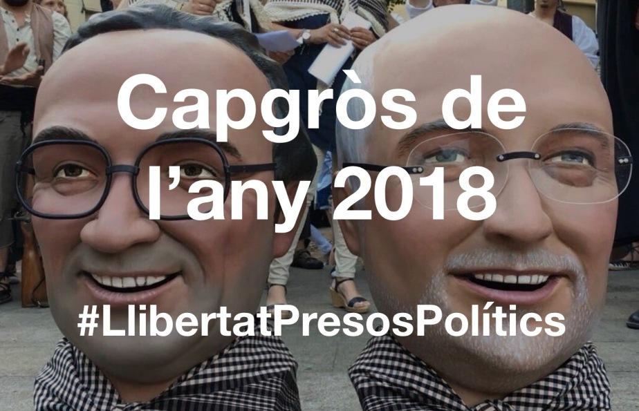 Capgròs de l'Any de Terrassa: Josep Rull i LluísPuig